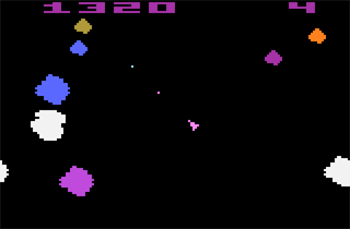 Asteroids Screenshot
